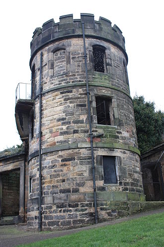New Calton Burial Ground - The Watch Tower, New Calton Burial Ground