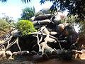 The artificial rock fountain at Marina Beach.jpg