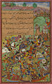 The battle of Sultan Ḥusayn Mīrzā against Sultan Masʿūd Mīrzā at Hiṣṣār.jpg