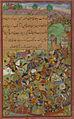 The battle of Sultan Ḥusayn Mīrzā against Sultan Masʿūd Mīrzā at Hiṣṣār.jpg