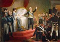 The birth of Henri de Bourbon, duc de Bordeaux, Paris 1820.jpg
