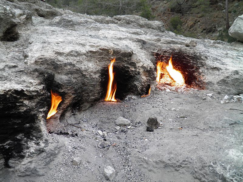 Natural Gas Eternal Flame Canter