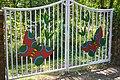 The gate of Butterfly park at Jahangirnagar University,Bangladesh.jpg