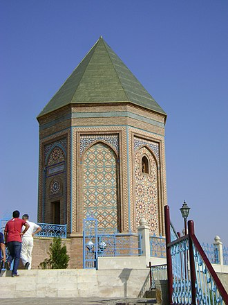Nakhchivan Autonomous Republic - A modern mausoleum marks the place in Nakhchivan City traditionally believed to be the site of Noah's grave.