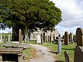 The graveyard at Colvend Parish Church - geograph.org.uk - 536750.jpg