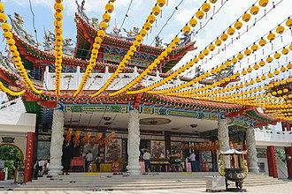 Mazu - Thean Hou Temple in Kuala Lumpur, Malaysia