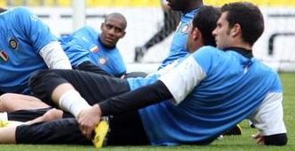 Thiago Motta - Motta training with Inter in 2010