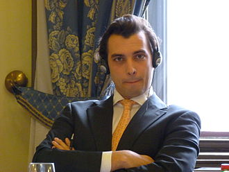 Thierry Baudet - Thierry Baudet at a Hungarian Academy of Sciences conference, 2016