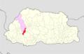 Thimphu Dagla Gewog Bhutan location map.png