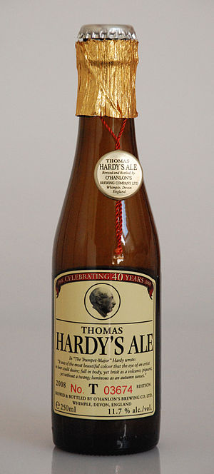 Old ale - Bottle of O'Hanlon's Thomas Hardy's Ale (11.7% ABV)