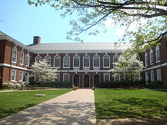 University of Virginia School of Engineering and Applied Science - Thornton Hall, the long-time home of the SEAS