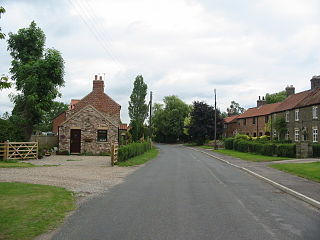 Thornton-le-Clay village in the United Kingdom