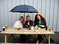 Three nice ladies at Sligo races, Ireland (2546241605).jpg