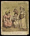 Three women having a discussion in a latrine Wellcome L0040393.jpg