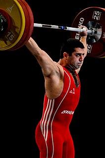 Tigran Gevorg Martirosyan Armenian weightlifter