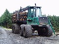 Timberjack forwarder near Blaree Burn - geograph.org.uk - 537572.jpg