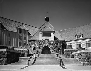 William Irving Turner - Timberline Lodge in 1994