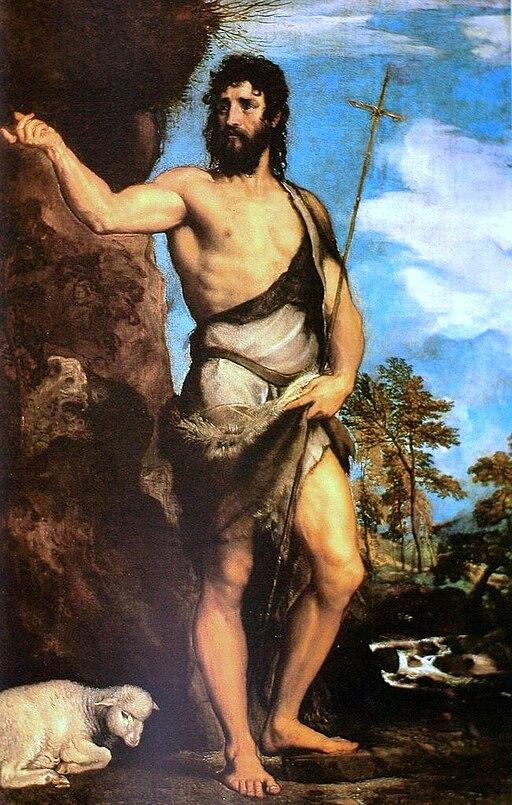 """Saint John the Baptist"" by Titian"
