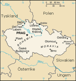 karta tjeckoslovakien Tjeckien – Wikipedia karta tjeckoslovakien