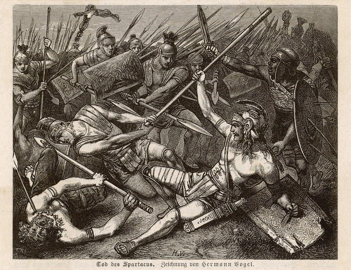 Spartacus wikip dia - Spartaco roma ...