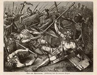 Spartacus Thracian gladiator