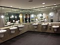 Toilets at the Brisbane International Terminal.JPG