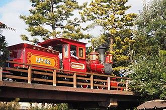 Western River Railroad - Image: Tokyo Disney Resort (16223136735)