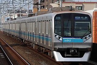 Tokyo Metro Tozai Line Rapid transit line in Tokyo