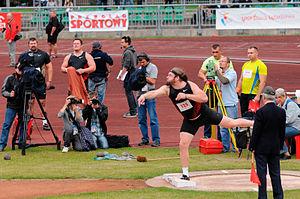 Shot put - Image: Tomasz Majewski 2. Memoriał Kamili Skolimowskiej Warszawa, 2011 09 20
