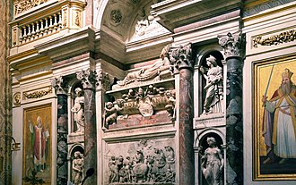 Santa Maria dell'Anima - Image: Tomb of Pope Adrian VI