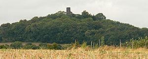 Tomburg Castle - Image: Tomburg Berg 2008