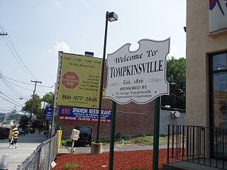 Tompkinsville, Staten Island neighborhood on Staten Island