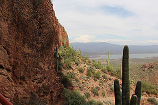 Tonto National Monument, looking east