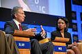 Tony Blair, Condoleezza Rice - World Economic Forum Annual Meeting Davos 2008.jpg