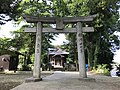 Torii of Suga Shrine in Munakata, Fukuoka 4.jpg