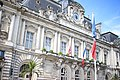 Tours - Hôtel de ville drapeau en berne après attentat Nice.jpg
