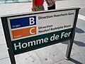 TramStrasbourg lineB lineC HommedeFer panneau.JPG