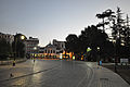 Tramline into Hippodrome of Constantinople (8396073312).jpg