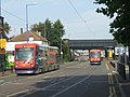 Trams on the Bilston Road - geograph.org.uk - 236002.jpg
