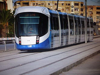 Alstom Citadis - Image: Tramway alger 6