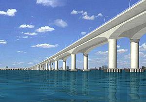 Mumbai Trans Harbour Link - Image: Trans harbor link animation