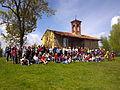 Trekking a San Michele di Costigliole Saluzzo - Gent ca fa doi pas a San Michel 'd Costiòle.JPG