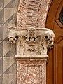 Trento-Palazzo Saracini Cresseri-detail of left capital of portal.jpg