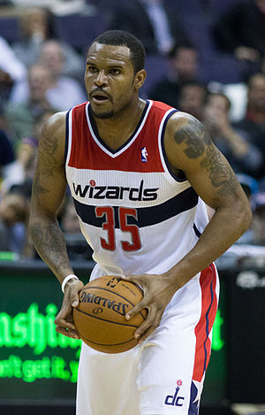 Trevor Booker - Booker with the Wizards in 2013