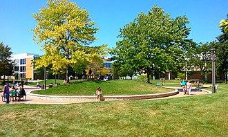 Triton College - Image: Triton College Campus Mounds