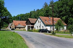Trstěnice (Svitavy District) - Image: Trstěnice, north part