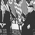 Trump and Kim 1-on-1 Meeting on the First Day in Hanoi.jpg
