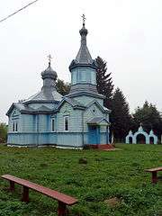 Tumyn Lokachynskyi Volynska-Saint Michael church-north-west view-1.jpg