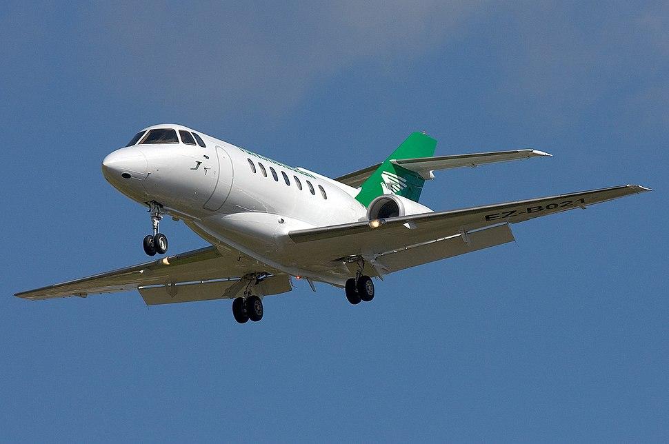 Turkmenistan British Aerospace BAe-125-1000B Zammit-2