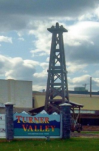 Turner Valley - Image: Turner Valley Sign
